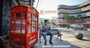 Bandung Street Library, Perpustakaan di Jalanan yang Keren Abis!