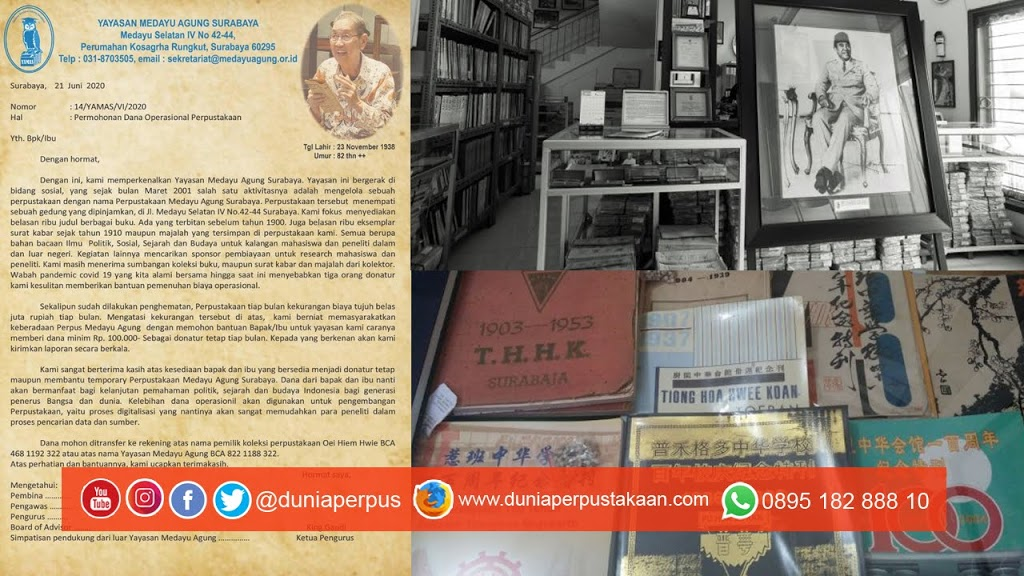 Perpustakaan Bersejarah ini Butuh Bantuan Mendesak, Mari Dibantu!