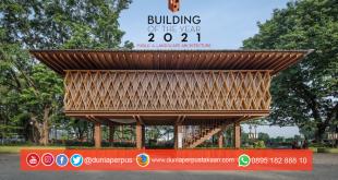 Microlibrary Warak Kayu Terpilih sebagai 15 Bangunan Terbaik Dunia 2021