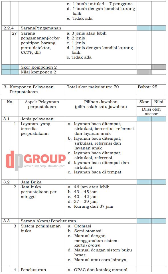 Form Akreditasi Perpustakaan Sekolah10