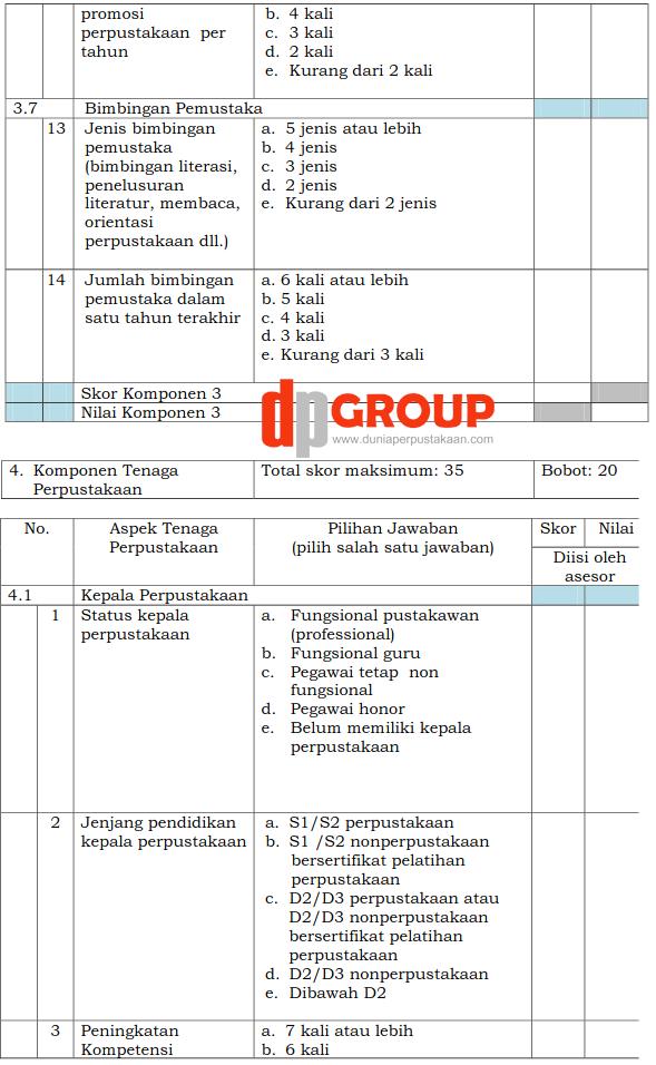 Form Akreditasi Perpustakaan Sekolah12