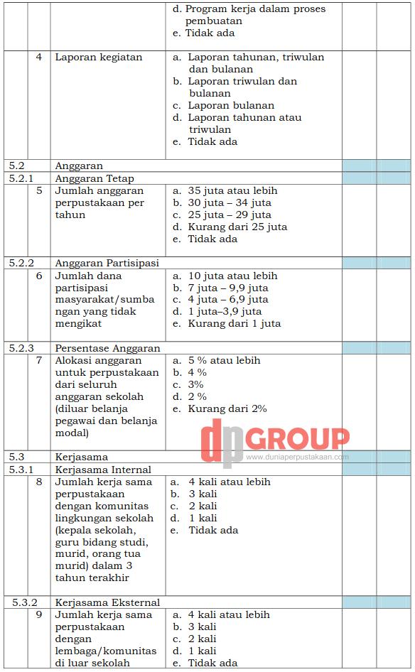 Form Akreditasi Perpustakaan Sekolah15