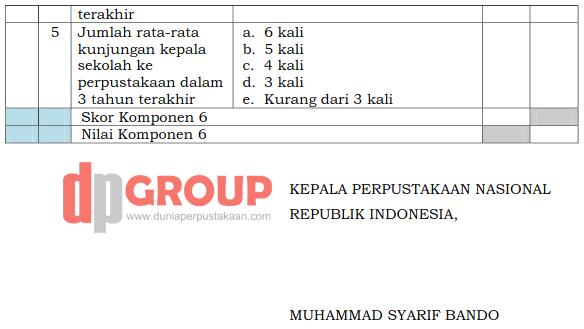 Form Akreditasi Perpustakaan Sekolah17