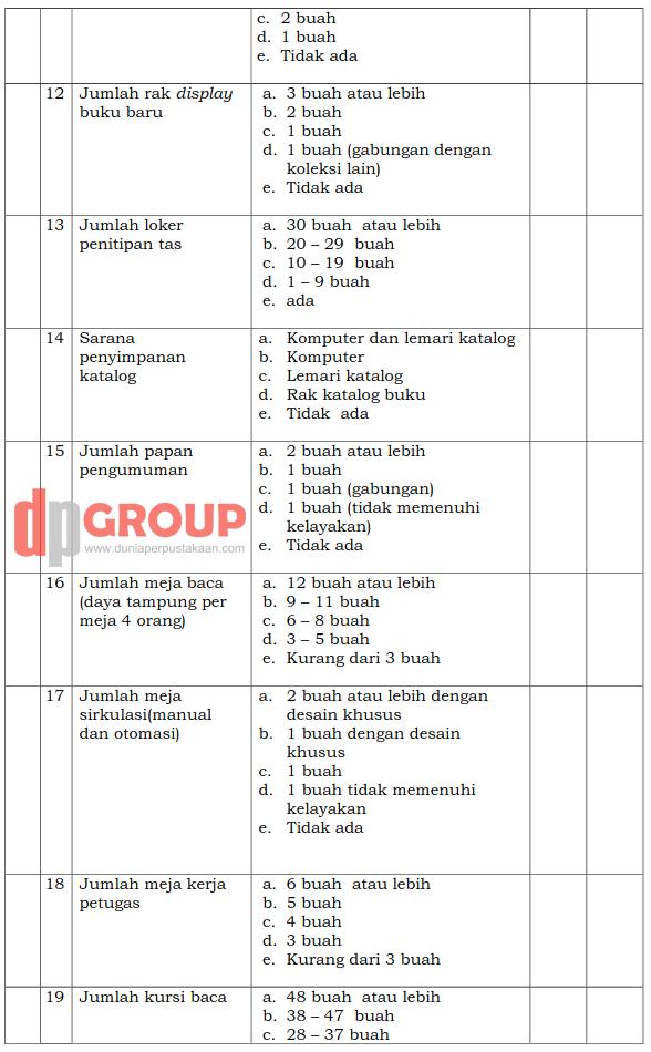Form Akreditasi Perpustakaan Sekolah8